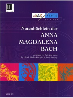J.S. Bach: Notenbüchlein Der Anna Magdalena Bach Arranged For Flute And Piano Books | Flute, Piano Accompaniment