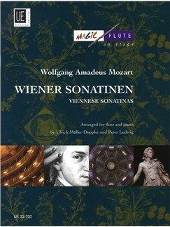 W.A. Mozart: Viennese Sonatinas Arranged For Flute And Piano Books | Flute, Piano Accompaniment
