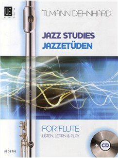 Tilmann Dehnhard: Jazz Studies For Flute Books and CDs | Flute