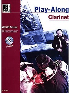 Play-Along Clarinet - Klezmer Books and CDs | Clarinet