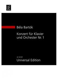 Béla Bartók: Concerto For Piano And Orchestra No.1 Books | Piano, Orchestra
