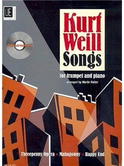 Martin Reiter: Kurt Weill Songs Books and CDs | Trumpet, Piano