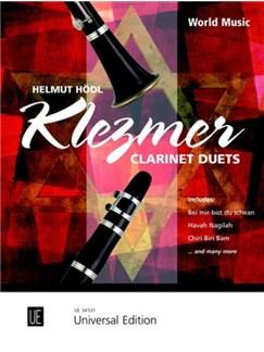 Helmut Hödl: Klezmer Clarinet Duets Books | Clarinet