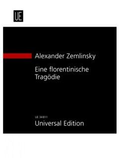 Alexander Zemlinsky: A Florentine Tragedy Op.16 - Study Score Books | Opera