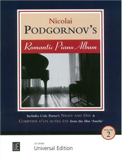 Nicolai Podgornov's Romantic Piano Album (Book 2) Books | Piano