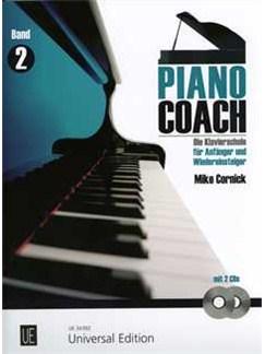 Mike Cornick: Piano Coach 2 Books and CDs   Piano