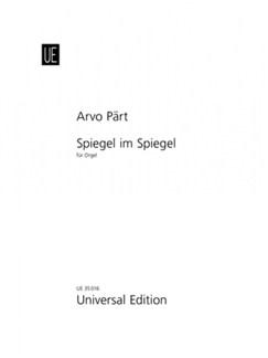 Arvo Pärt: Spiegel Im Spiegel (Organ) Books | Organ