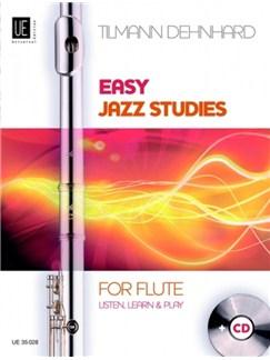 Tilmann Dehnhard: Easy Jazz Studies - Flute Books and CDs | Flute