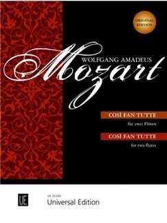 W.A. Mozart: Cosi Fan Tutte (2 Flutes) Books | Flute (Duet)