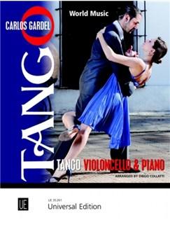 Carlos Gardel: Tango - World Music Books | Cello, Piano Accompaniment