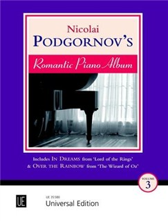 Nicolai Podgornov's Romantic Piano Album - Volume 3 Books | Piano