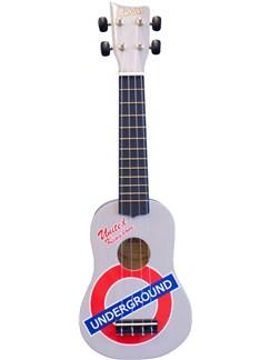 Ashton: UKE100LU Ukulele - London Underground Instruments | Ukulele