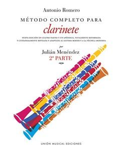 Romero Metodo Completo Para Clarinete (Menendez) Part 2 Books | Clarinet