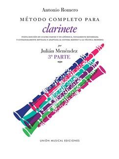Romero Metodo Completo Para Clarinete (Menendez) Part 3 Books | Clarinet