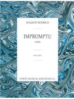 Joaquin Rodrigo: Impromptu Para Arpa Libro | Arpa