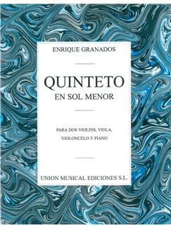 Enrique Granados: Quinteto En Sol Menor Libro | Música de Cámara, Instrumentos de Cuerdas, Piano de Cámara