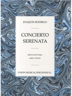 Rodrigo: Concierto Serenata Para Arpa Y Piano Libro | Arpa, Acompañamiento de Piano