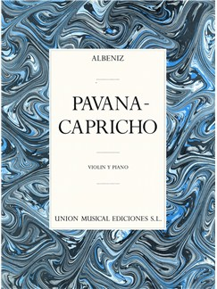 Isaac Albeniz: Pavana - Capricho Op.12 (Violin/Piano) Books | Violin, Piano Accompaniment