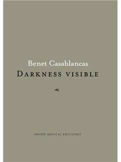 Benet Casablancas: Darkness Visible (Orchestra) Books | Orchestra