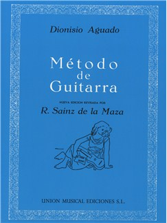 Dionisio Aguado: Metodo De Guitarra Libro | Guitarra