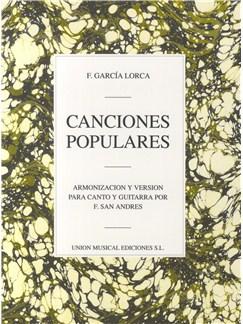 Federoco Garcia Lorca: Canciones Populares Books | Voice and Guitar