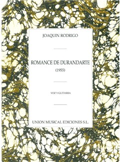 Joaquín Rodrigo: Romance De Durandarte Books | Voice, Guitar