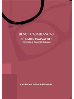 Benet Casablancas: Si A Montsalvatge Books | Piano