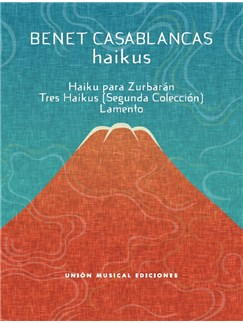 Benet Casablancas: Haikus Books | Piano