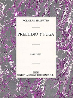 Halffter, R Preludio Y Fuga Piano Books | Piano