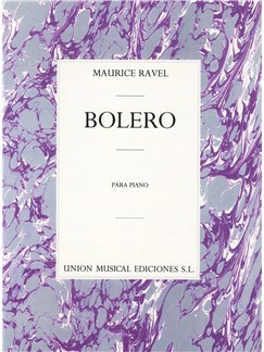 Maurice Ravel: Bolero For Piano Solo Livre | Piano