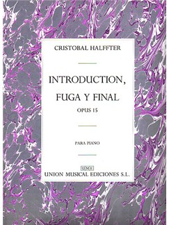 Cristobal Halffter: Introduccion Fuga Y Final Op.15 Livre | Piano