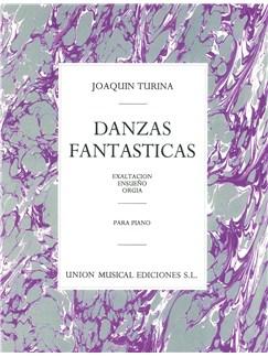 Joaquin Turina: Danzas Fantasticas Books | Piano