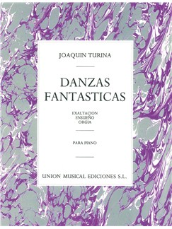 Joaquin Turina: Danzas Fantasticas Libro | Piano
