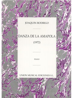 Rodrigo: Danza De La Amapola For Piano Books | Piano