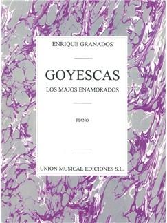 Enrique Granados: Goyescas (Los Majos Enamorados) Libro | Piano