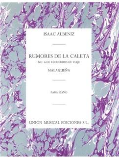 Albeniz Rumores De Clta No6 Op71 Livre | Piano