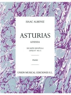 Albeniz: Asturias (Leyenda) De Suite Espanola Op.47 No.5 Books | Piano