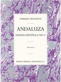 Granados: Danza Espanola No.5 Andaluza Books | Piano