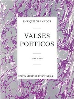 Enrique Granados: Valses Poeticos Libro | Piano