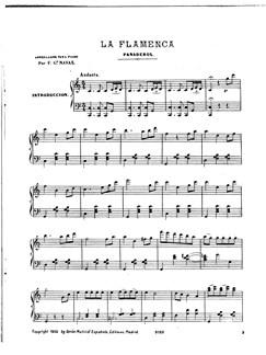 Garcia Navas: No.2 Panaderos De La Flamenca De Coleccion de Bailes Espanoles Books | Piano
