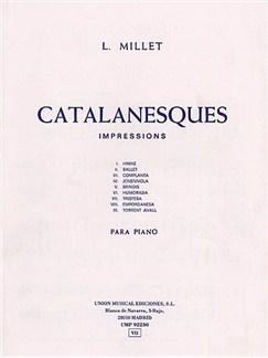 Millet Catalanesques Impressiones Piano Livre | Piano