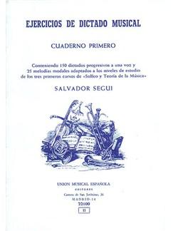 Segui Ejercicios De Dictado Musical I Books |