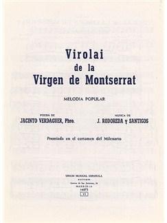 Rodereda Y Santigos Virolai De La Virgen Livre | Voix