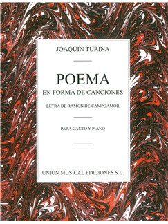 Joaquin Turina: Poema En Forma De Canciones Libro | Voz, Acompañamiento de Piano