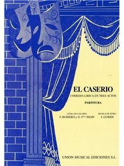 Jesus Guridi: El Caserio (Vocal Score) Books | Opera