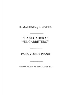 R. Martinez And J. Rivera: La Segadora Y El Carretero (Vocal Score) Books | Voice, Piano Accompaniment