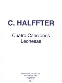 C. Halffter: Cuatro Canciones Leonesas Books | Soprano, Piano
