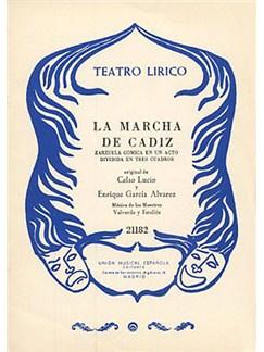 Valverde La Marcha Da Cadiz (libreto) Books | Voice