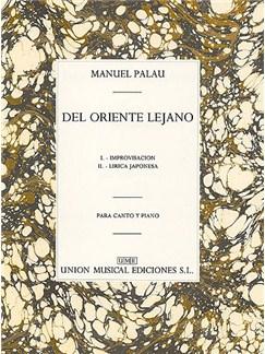 Palau Del Oriente Lejano Voice/piano Books | Voice