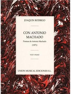 Joaquin Rodrigo: Con Antonio Machado Books | Voice, Piano Accompaniment